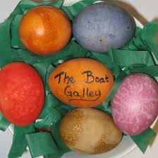 easter eggs without food coloring the boat galley