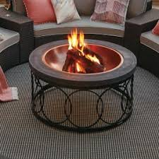wood burning fire table emperor wood burning fire pit frontgate