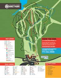 Map Of North America With Mountains by Mountain Creek Bike Park Mountain Bike Spot All Rides Now