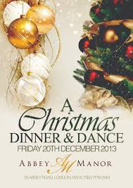 christmas dinner and dance north london the best dinner in 2017