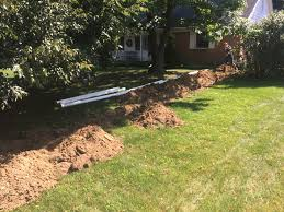 drainage system installation 2 alliance drain u0026 plumbing llc