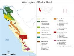 Map Of Central United States by United States Map Of Vineyards Wine Regions