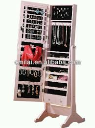 standing mirror jewelry cabinet jewelry cabinet mirror free standing roselawnlutheran