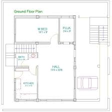 cool house plan for south facing plot with two bedrooms photos