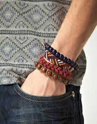 bead bracelet styles images Collection of various styles of bracelet for men jpg