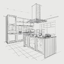 dessiner en perspective une cuisine dessin perspective banque d images vecteurs et illustrations libres