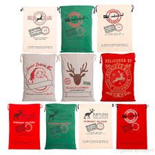 christmas gift bag christmas gift bags santa sack drawstring bag large organic heavy