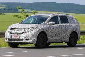 honda cr new honda cr v exclusive pictures and spy shots frankfurt