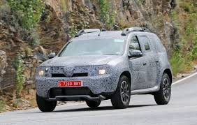 renault dacia duster 2017 new renault duster spied testing might be a seven seater u2013 the wheelz
