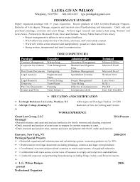 Corporate Paralegal Resume Sample by Paralegal Assistant Resume Sample