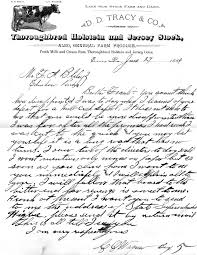 farm writing paper the bliley wagner and dowd families of erie pa 1806 1950 letter from charlie wagner to his brother in law frank bliley click image for larger size