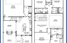 2 story floor plan home architecture house plan simple two story floor plans
