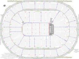 Detailed Floor Plan Consol Energy Center Detailed Seat U0026 Row Numbers End Stage