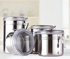 coolest 17 stainless steel canisters
