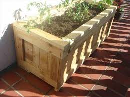 planter boxes out of pallets recycled things