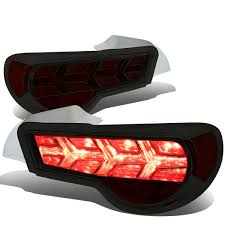 red subaru brz 13 17 scion frs subaru brz led arrow sequential tail light