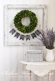 Clever Home Decor Ideas by Clever Diy Chicken Wire Rustic Decor Ideas For Your Home