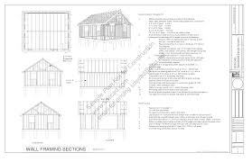 house plan g448 x garage plans blueprints page 4 with loft 30 40