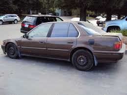 1990 honda accord dx 1990 honda accord 4 door sedan dx model 2 2l mt fwd color brown