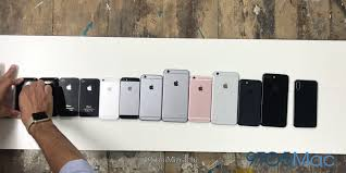 from 2g to iphone 8 ten years of iphones compared video 9to5mac