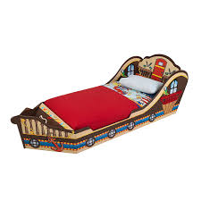 Pirate Ship Bed Frame Amazon Com Kidkraft Toddler Pirate Bed Toys U0026 Games