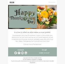thanksgiving day email template families get together for software