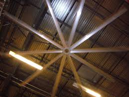 decorating wonderful big assfan with ceiling lights and