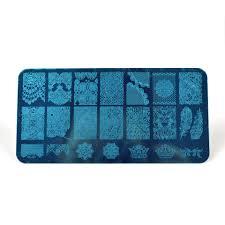 aliexpress com buy konad nail stamping plates stamper stamping