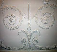 Mount Vernon Dining Room Ceiling Detail - Mount vernon dining room
