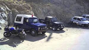 jipsi jeep maruti gypsy king leh ladakh black hawkz modified navi rana youtube