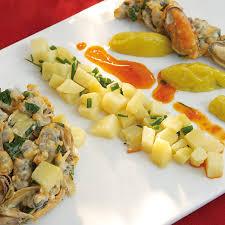 recette de cuisine a base de pomme de terre salade de pommes de terre juliette aux coquillages cuisine