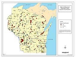 A Map Of Wisconsin by Natural Disaster And Hazard Risk Assessment Resourcesthe Higher Ed Cio