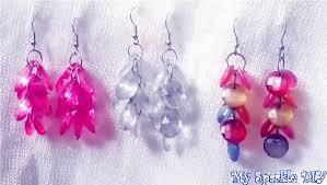 make dangle earrings diy drop dangle earrings easy