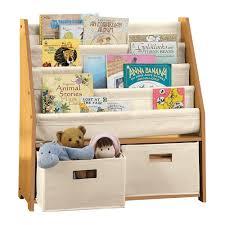 Boon Bookshelf Children U0027s Bookcases And Storage Kids U0027 Sling Bookshelf With