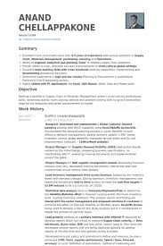Project Manager Resume Samples And by Supply Chain Manager Resume Example Cv Pinterest Supply