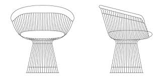 Armchair Dimensions Platner Arm Chair Knoll