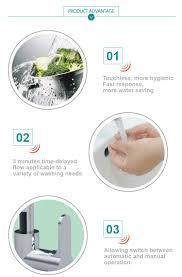 automatic kitchen faucet hands free touchless faucet sensor automatic deck mounted single