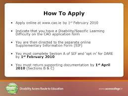 disability access route to education process explained ppt download
