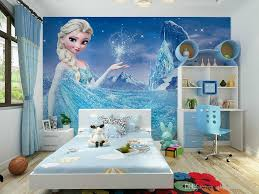 modern children s room wallpaper non woven fairy tale frozen movie modern children s room wallpaper non woven fairy tale frozen movie characters girl through a large room mural wallpaper free shipping