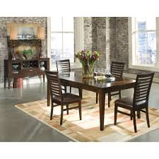 overstock dining room sets intercon kashi mango veneer dinette table overstock shopping