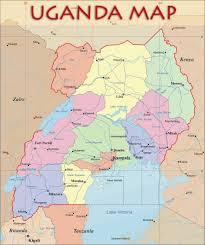 Political Us Map Uganda Political Map Uganda U2022 Mappery