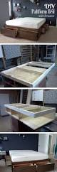 Diy Platform Queen Bed With Drawers by 20 Easy Diy Bed Frame Projects You Can Build Yourself Diy
