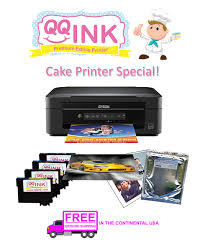 edible print qqink cake printer bundle epson all in one printer comes with