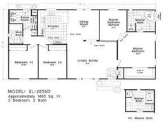 Cavco Floor Plans Floor Plan Gs 28524a Gs 28 U0026 32 Wides Homes By Cavco West