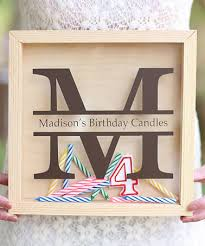 personalized birthday candles another great find on zulily personalized birthday candle keeper