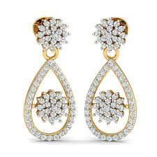diamond earrings india buy diamond earrings online in india diamond earrings