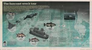 Florida Artificial Reefs Map by Central West Reefs U0026 Shipwrecks Florida Go Fishing