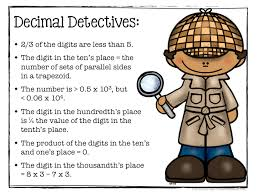 decimal detectives logic puzzles for critical thinking math