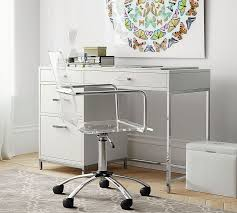 Small Desks With Storage Small Desk Pottery Barn