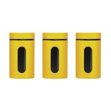yellow kitchen canisters yellow kitchen canisters wayfair co uk